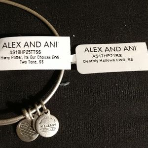 Alex and Ani Jewelry - ALEX AND ANI HARRY POTTER SET! HALLOWS & CHOICES❣️